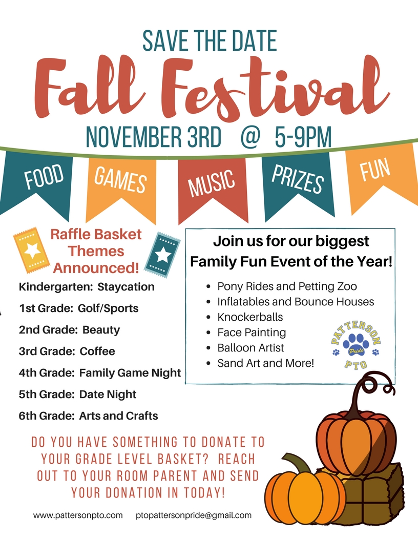 Fall Festival Save the Date