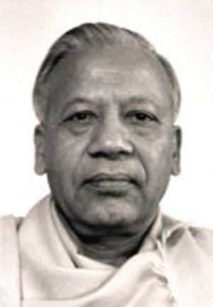 Swami Prabhavananda. - Courtesy Vedanta Society of Southern California.