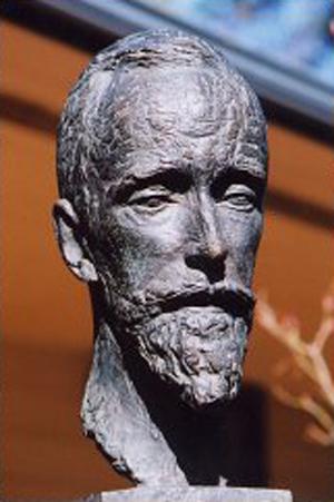Portrait of Gerald Heard, 1951 - Antonio Salemme, sculptor