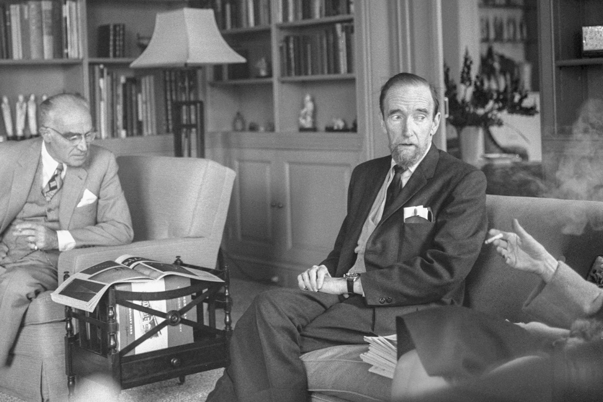 With Henry and Clare Boothe Luce, Summer 1962 -