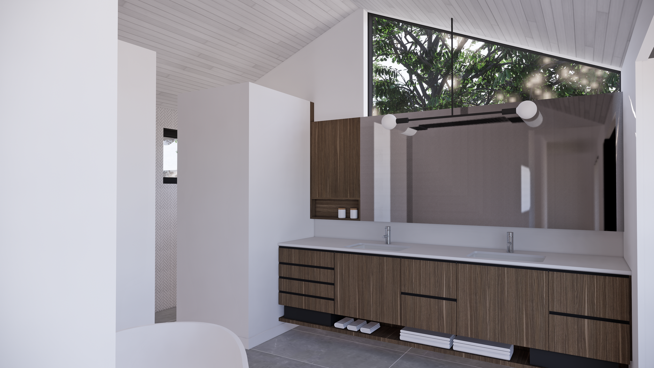 treehouse master bath
