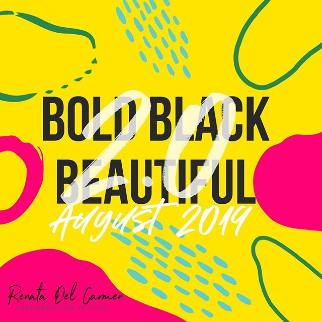 Tomorrow. . . . #BoldBlackBeautiful #BBB2019 #BBB2.0 #BlackBeauty #EliteLifestyler #Elite #Lifestyler #Beauty #Fashion #Health #Wellness #Spirituality #Love #Media #Style #Grace #Culture #BlackExcellence #ExperienceLifeInStyle