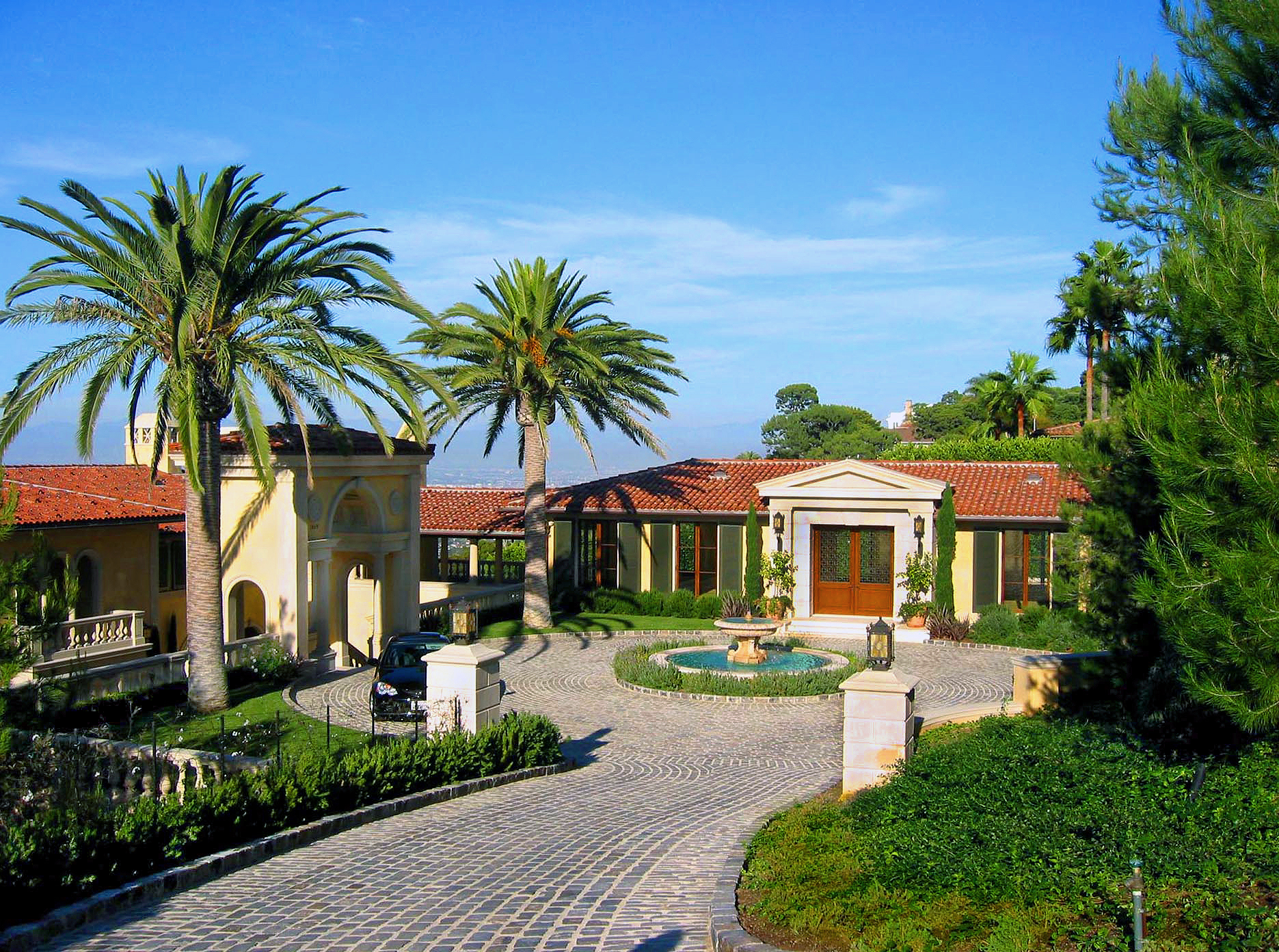 Private Estate Garden - Palos Verdes Estates, CA