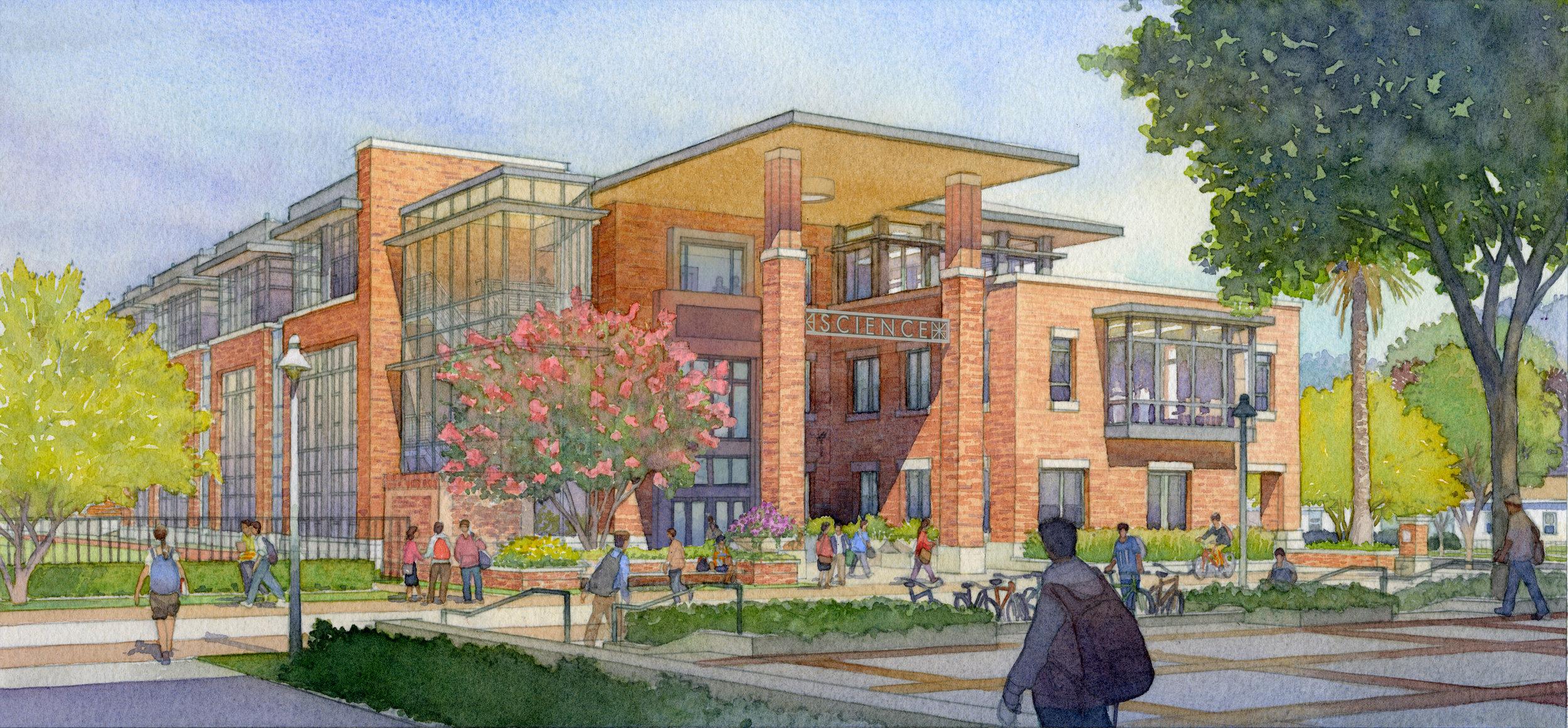 chapman university science center - Orange, California