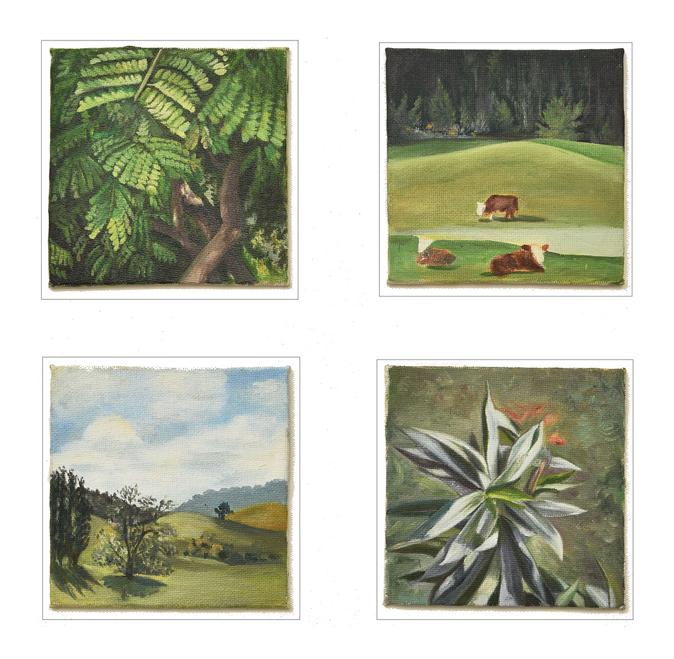 Coaster Paintings (2017)