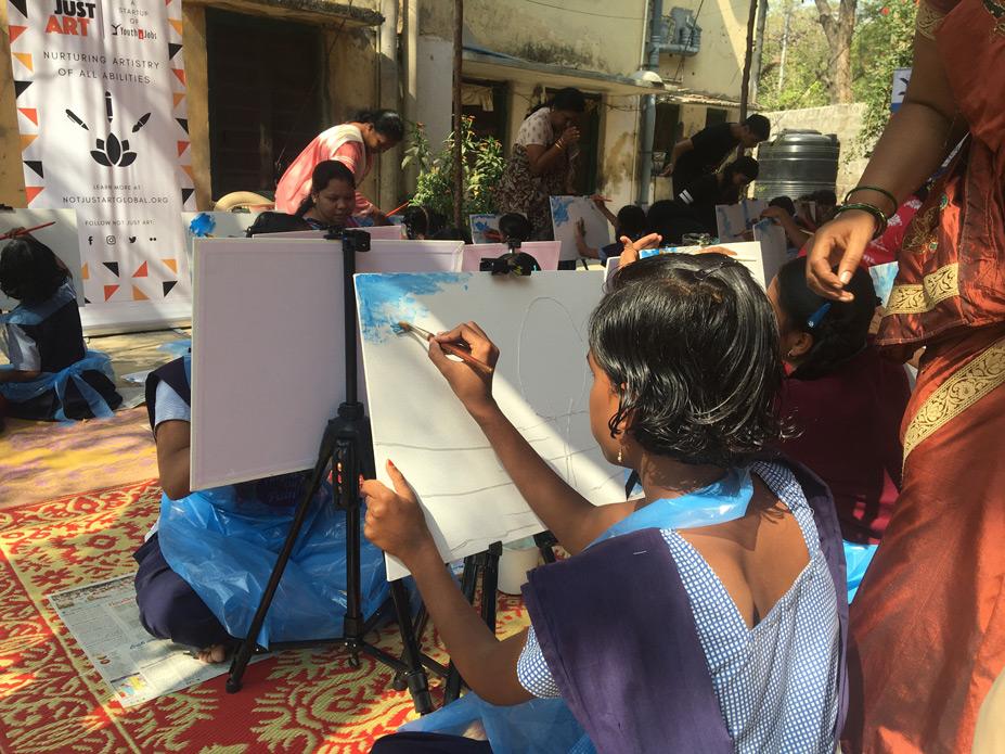 NJA Painting workshop