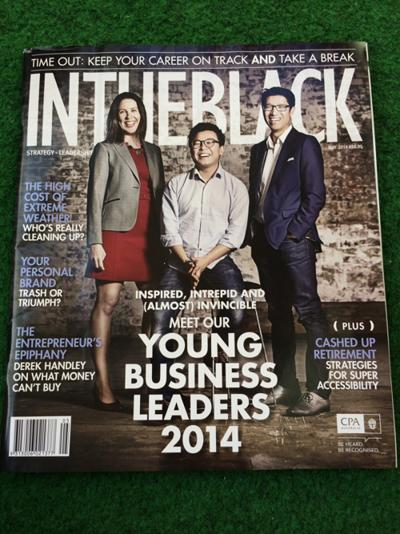 CPA InTheBlack Magazine - Young Leaders