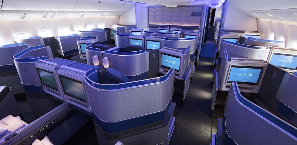 United 'Polaris' Business Class Design