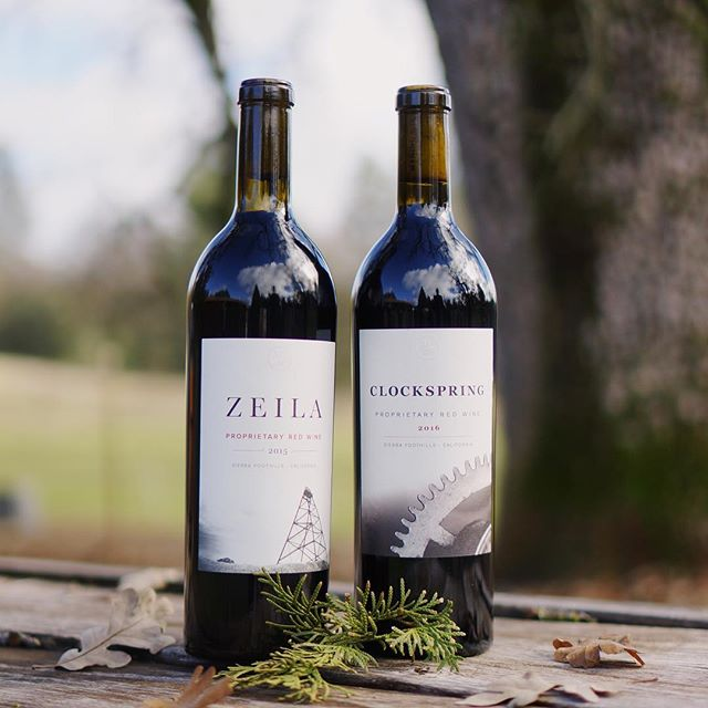 Time to refill the cellar after the Holidays! Head over to the website (link in bio) and start the New Year off right! 🍇 🍇 🍇 🍇 #sierrafoothills #amadorwine #makingwineco #zeila #clockspring #redwine #winelovers #winecountry #vineyard #vines #cabernet #zinfandel #tempranillo #petitesirah #organic #winetasting #winetonight #redblend