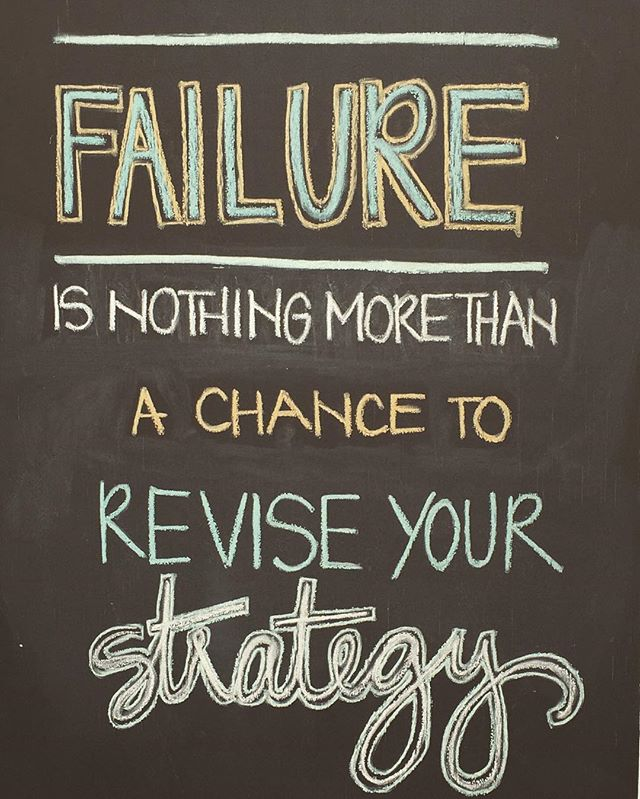 [failure is nothing more than a chance to revise your strategy] how can you revise your failures? #portland #pdx #portlandoregon #mentalhealth #portlandmentawellness #therapy #counseling #psychology