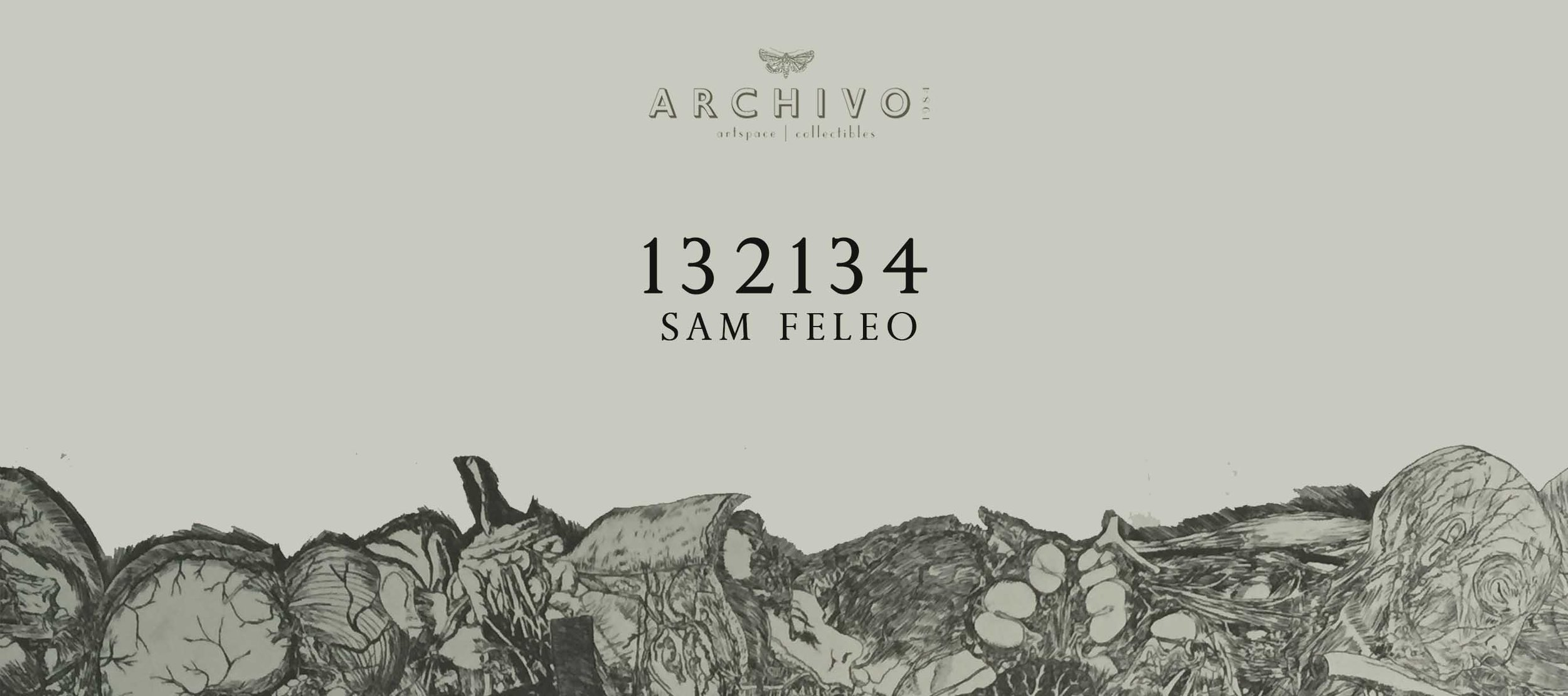 132134  Sam Feleo January 16 - February 6, 2016  Exhibition Link