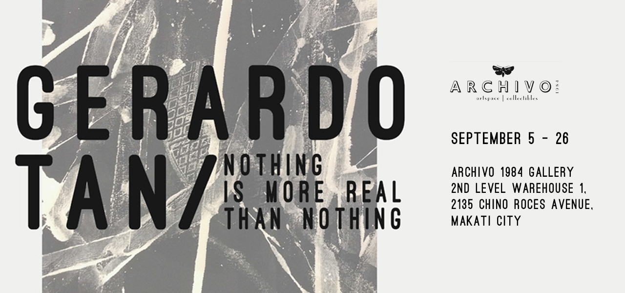 Nothing Is More Real Than Nothing  September 5 - 26, 2015  Exhibition Link