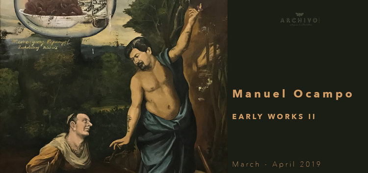 Early Works II  Manuel Ocampo March 1 - April 30