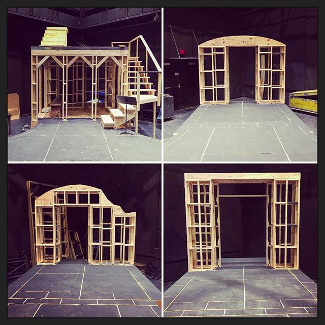 #setconstruction #thescottishplay #theatre #techtheatre