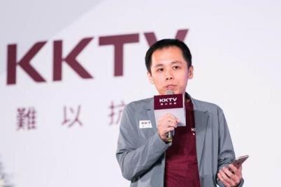 ▲KKV總裁蔡怡仁先生宣告:「KKTV『免費轉轉台』功能, 將革新OTT追劇市場,增加影視觀賞體驗,為消費者帶來新選台時代!」