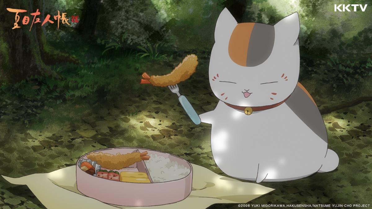 《夏目友人帳》裡的貓咪老師在動漫界人氣強強滾!