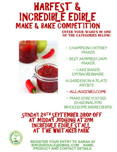 Incredible Edibles Make and Bake competition