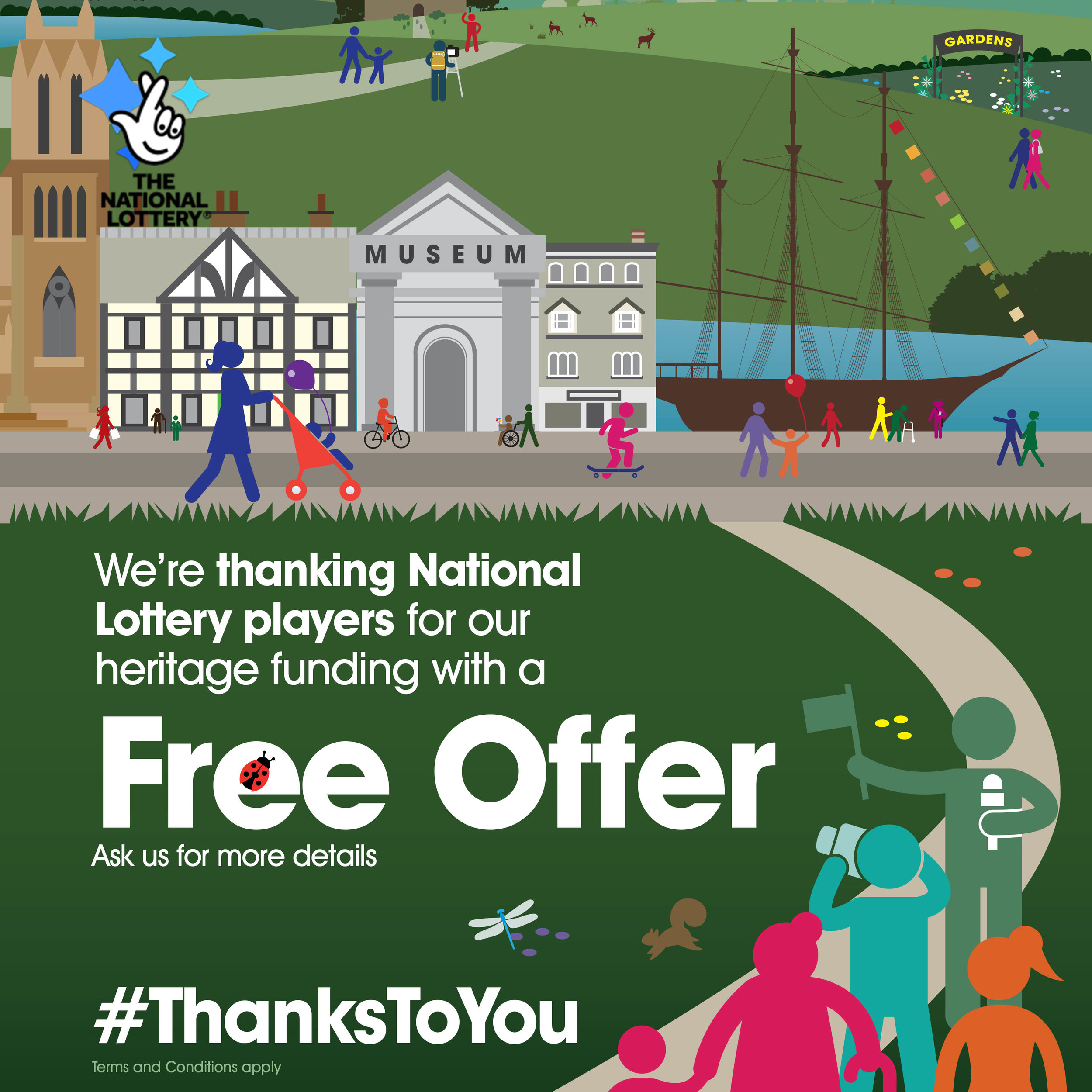 The National Lottery #thankstoyou