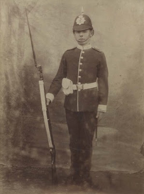 A Private of the East Lancashire Volunteers