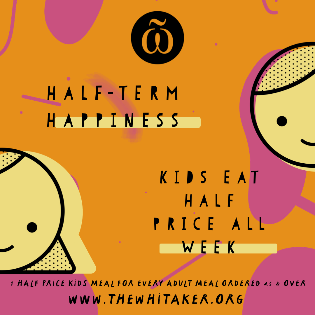 Kids eat half price