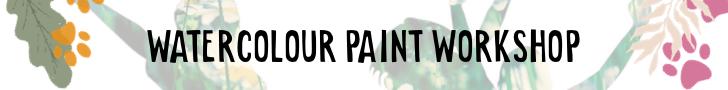 Kids watercolour paint workshop