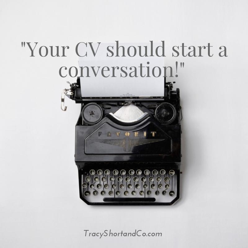Blog Your CV should start a conversation.jpg