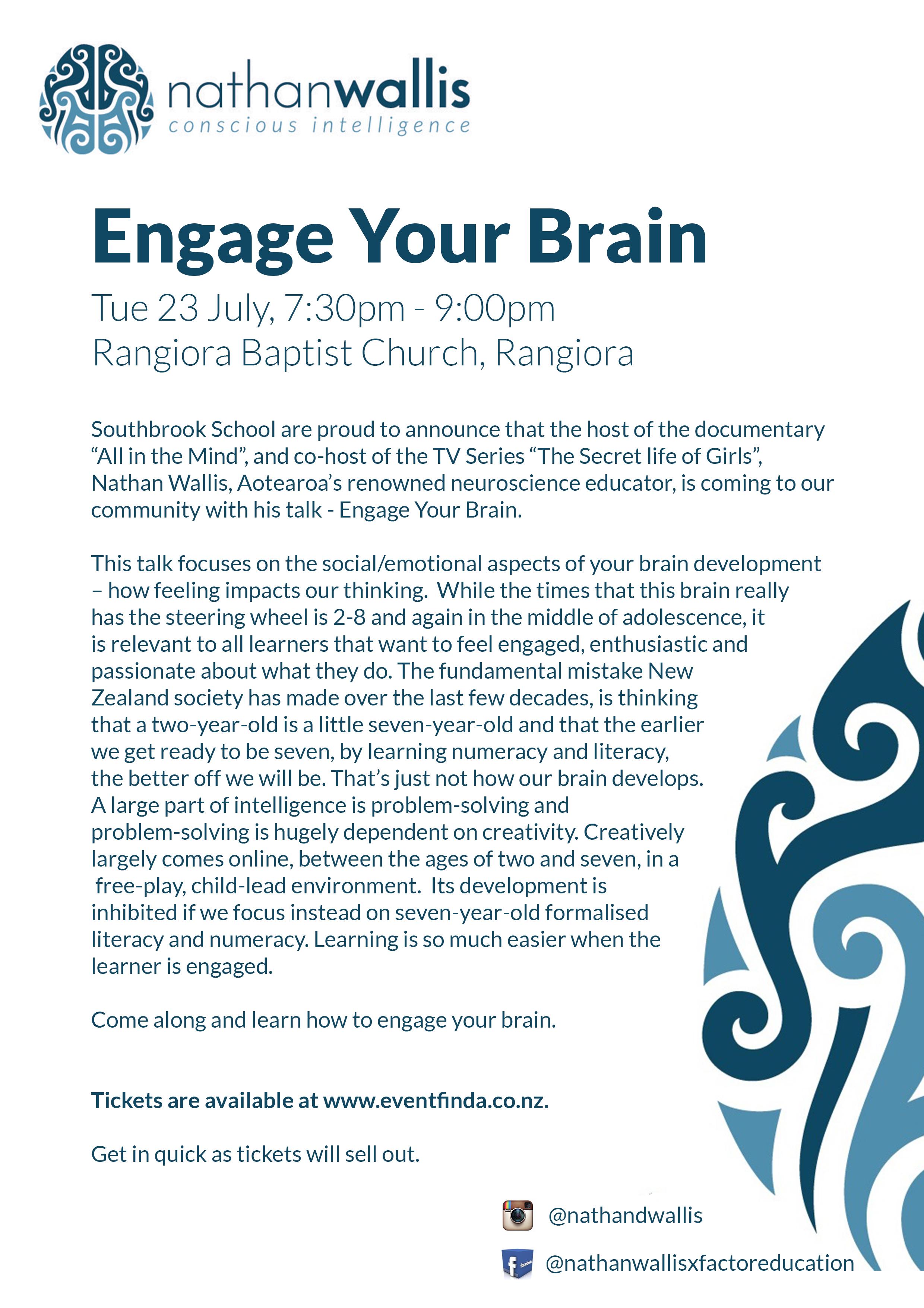 Engage Your Brain - Newsletter Flyer - Rangiora.jpg