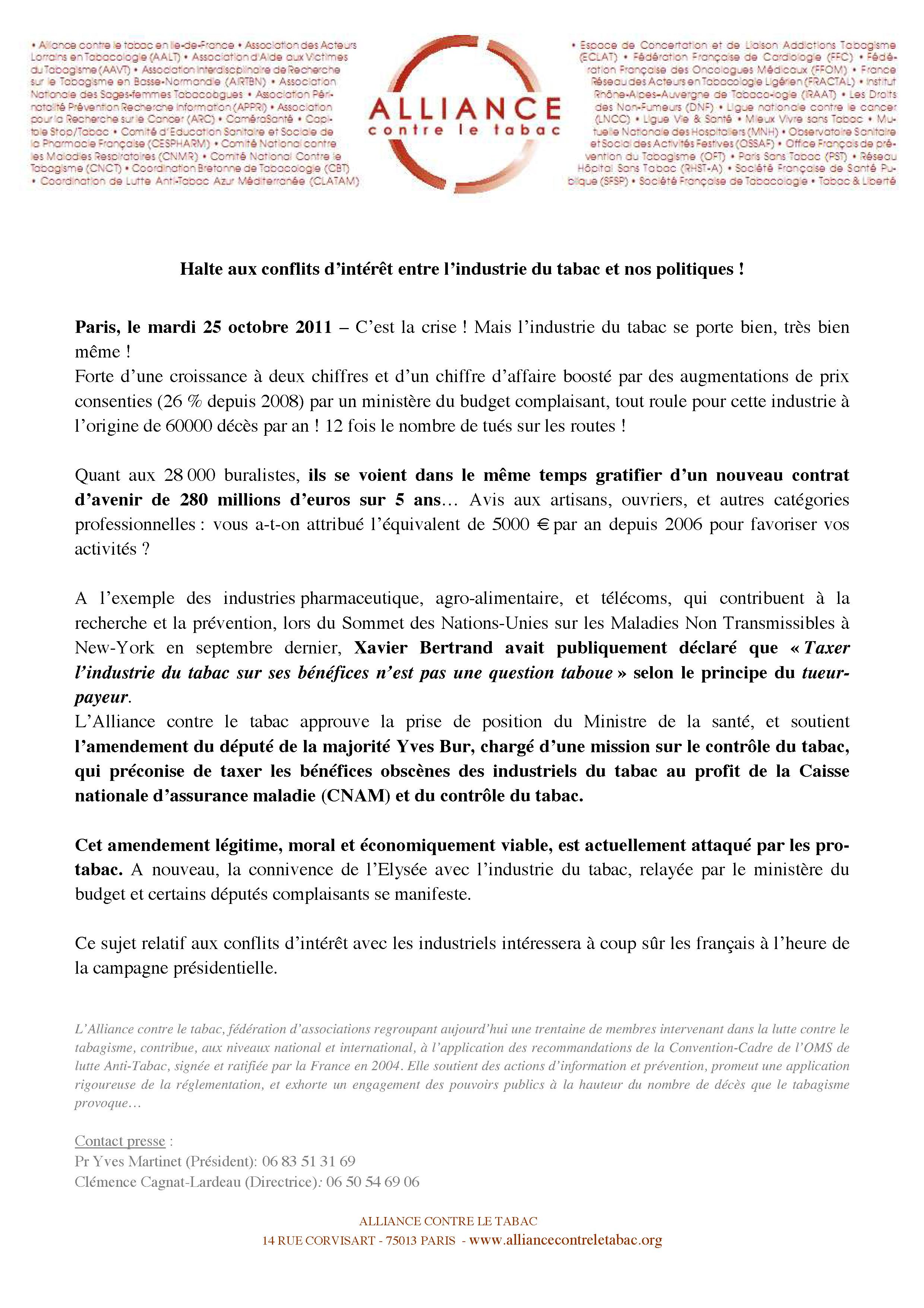 Alliance-CP_halte-aux-conflits-d-interet-entre-l-industrie-du-tabac-et-nos-politiques-25oct2011.jpg