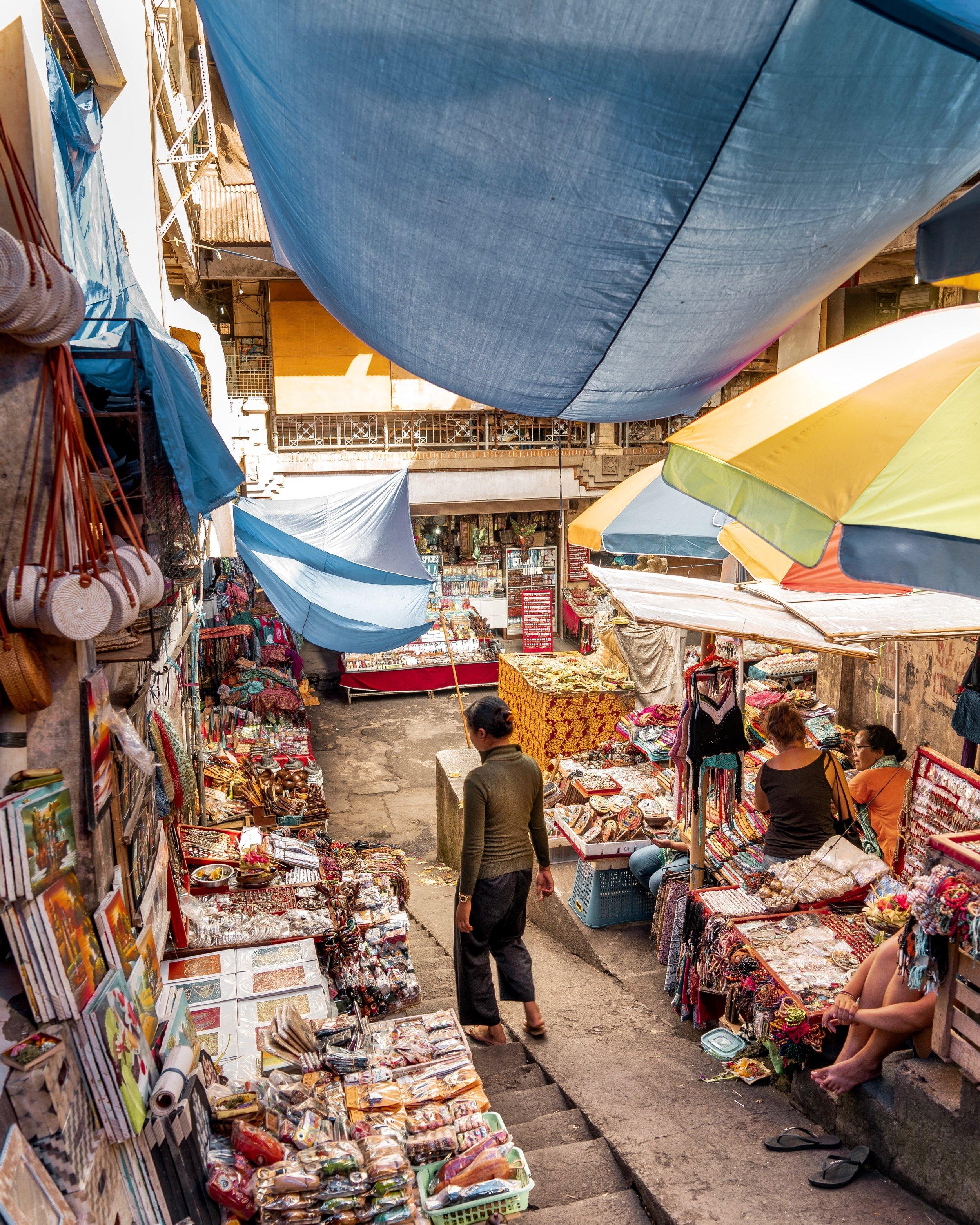 Ubud Market, Bali, Indonesia - Ellie Dyduch