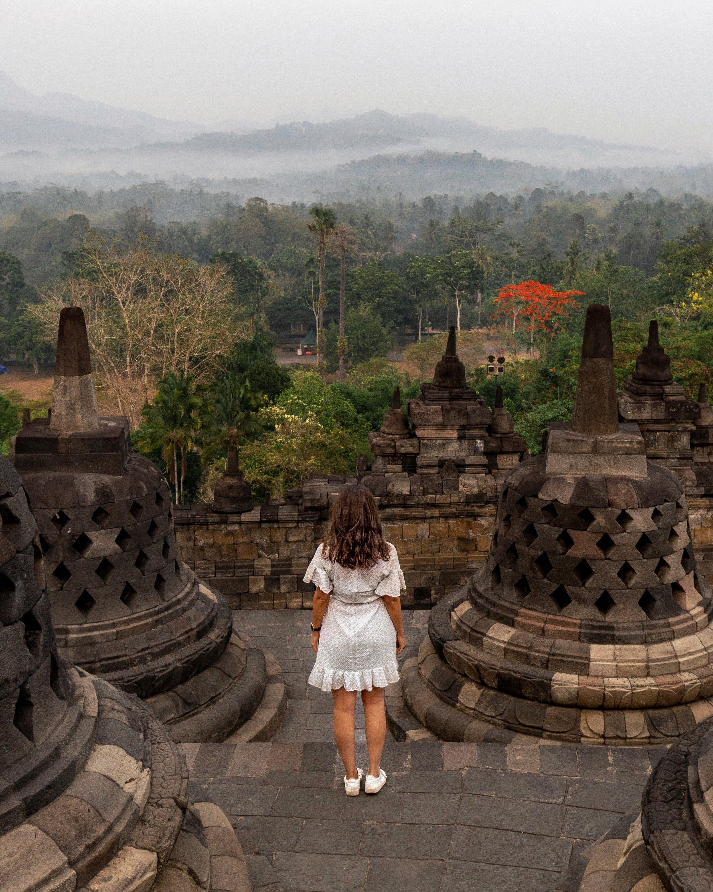 Borobudur Temple, Java, Indonesia - Ellie Dyduch