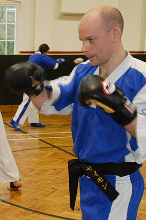 Sensei Simon  2nd Dan Black Belt  WAKO Qualified Instructor