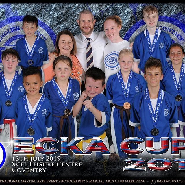 Great team at the ECKA Cup! #ecka #kickboxing #medals #teamspirit #family