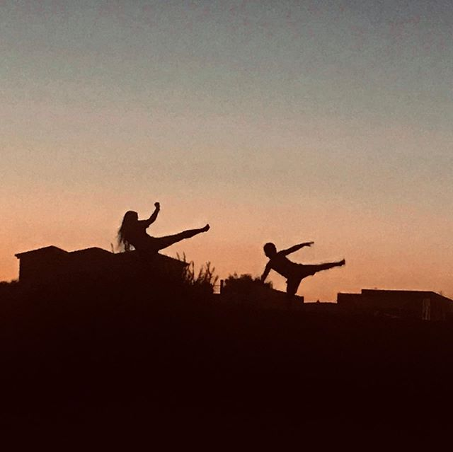 Bletchley Dragons on their travels! #sunset #martialarts #bletchley #kickboxing #karate