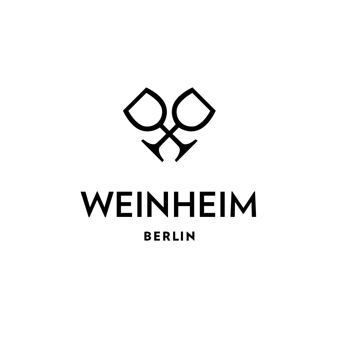 Logo and name for Weinheim independent wine tastery Berlin With Lars Schrage