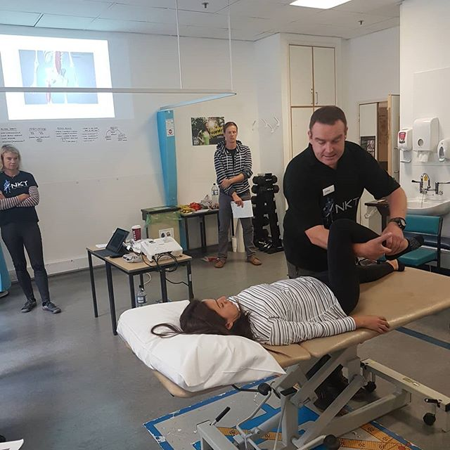 Level 2 NeuroKinetic Therapy course #nkt #FreeMotion #PhysicalTherapy