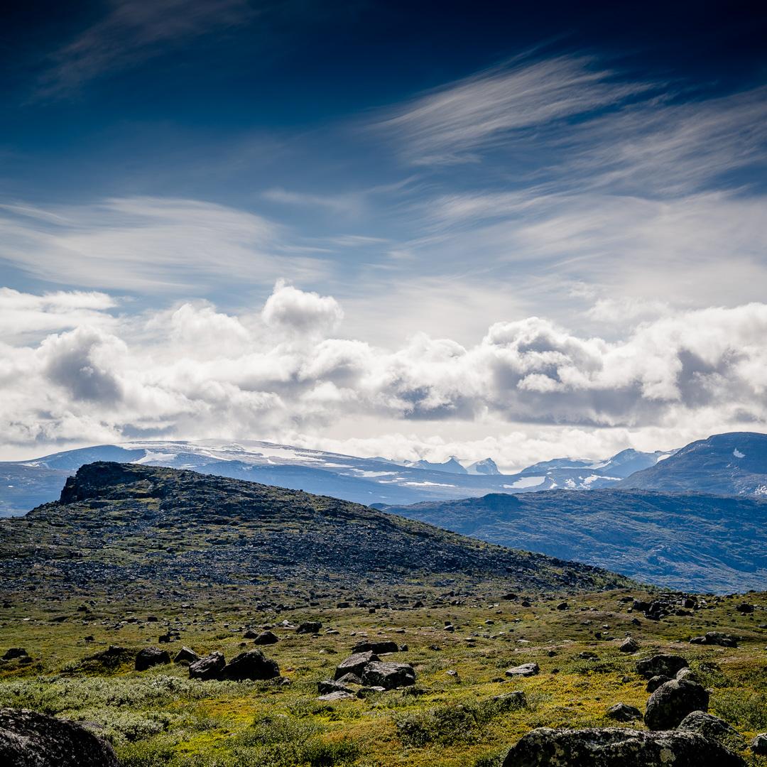 Kungsleden norr om vakkotavare. Foto: CJ utsi.