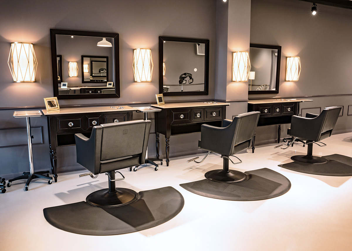 The Salon - Modern day beauty meets timeless hospitality. Welcome home!