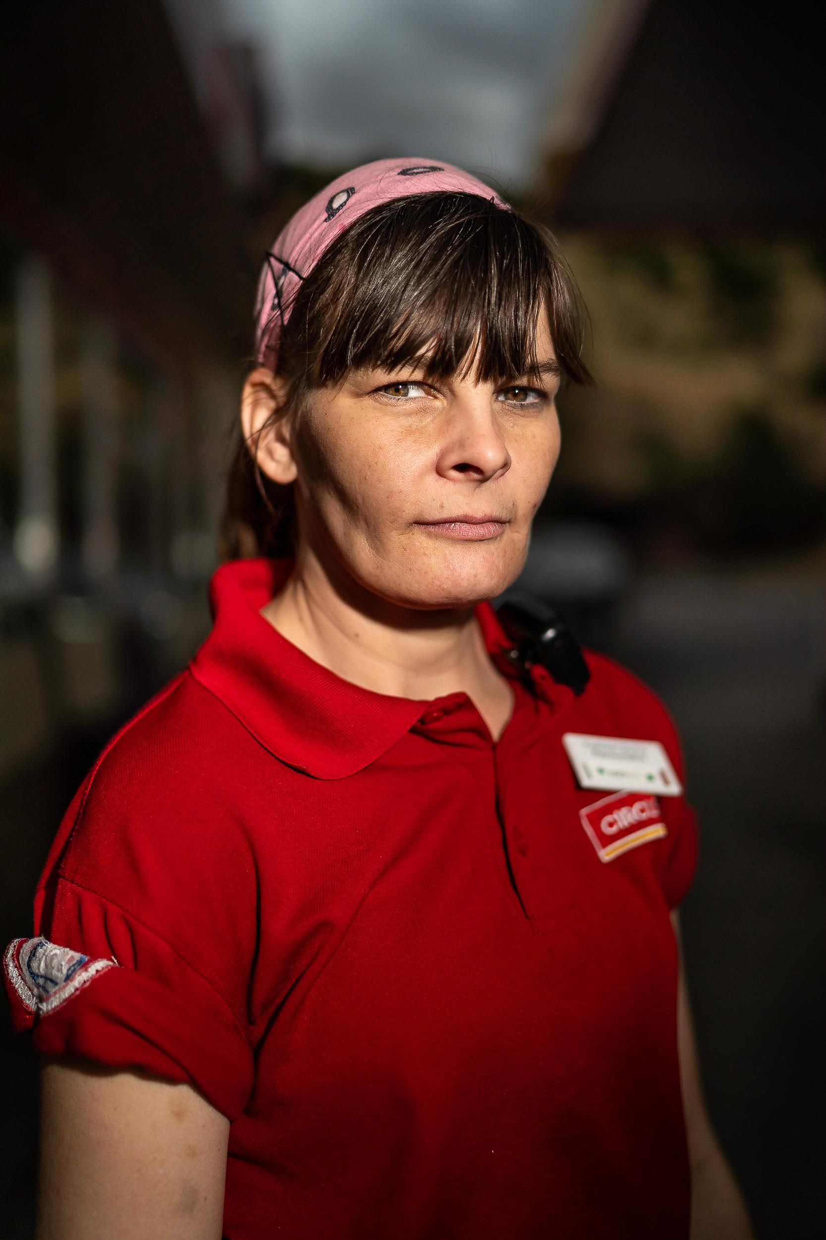 Andrea, Former Wild Fire Fighter, Arlington, Oregon, June, 2018.