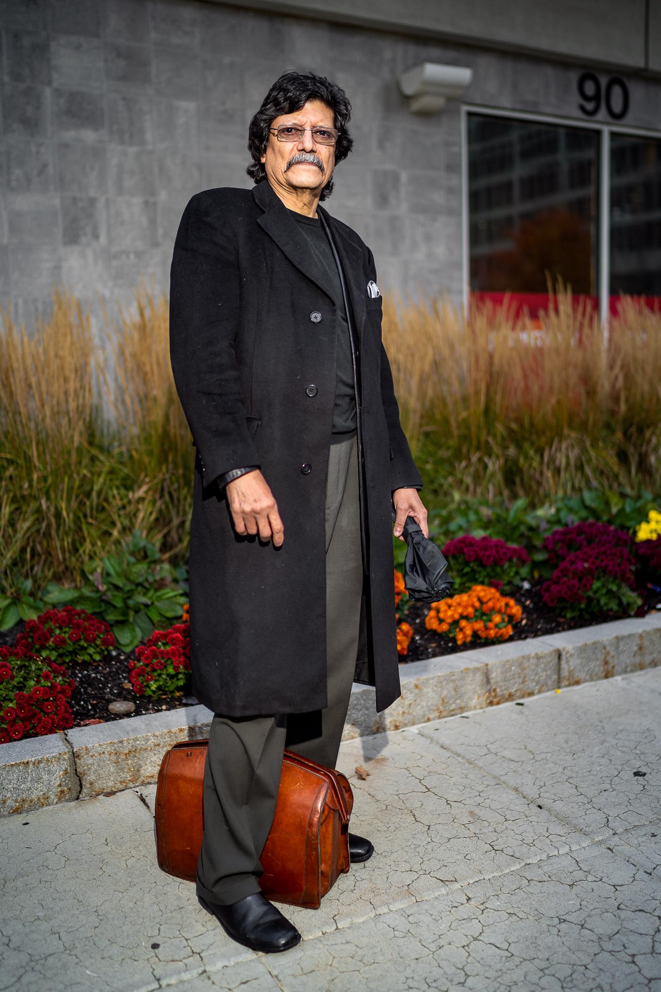 Dorian, Clinical Psychologist, Front Street, October, 2018.
