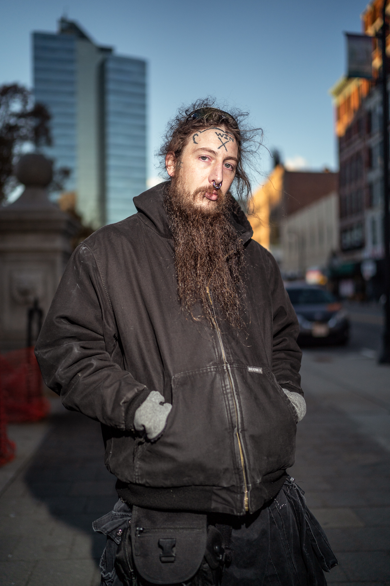 Brian, Front Street, November, 2018.