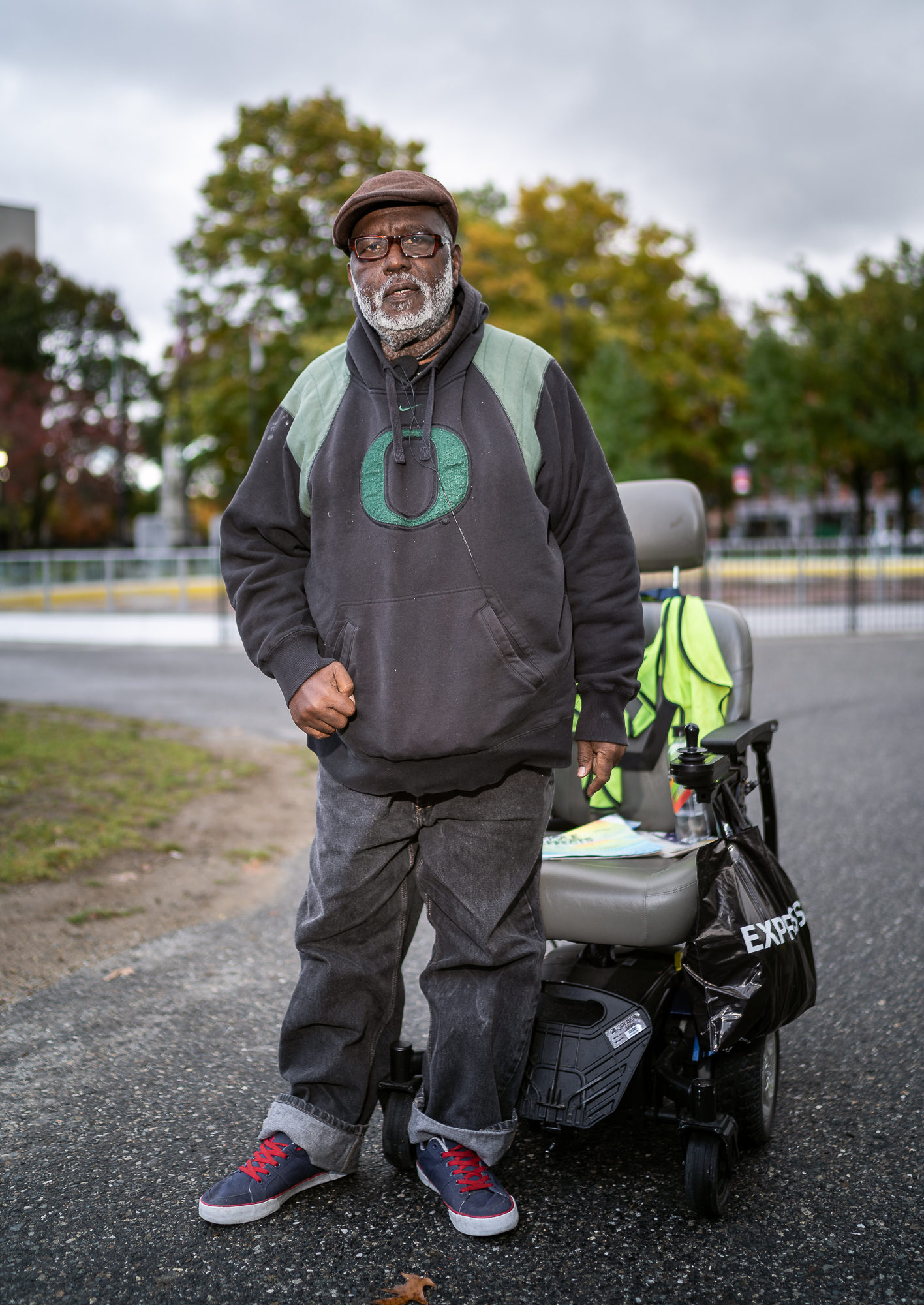 David, Worcester Common, October, 2018.