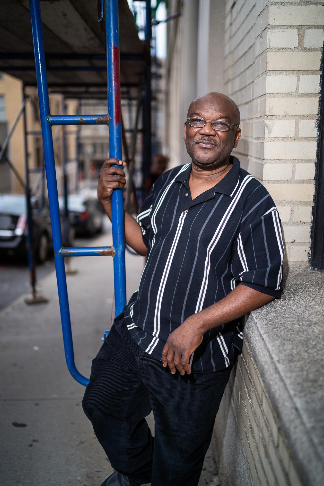 Bob,  After School Program Director, Walnut Street, September, 2018.