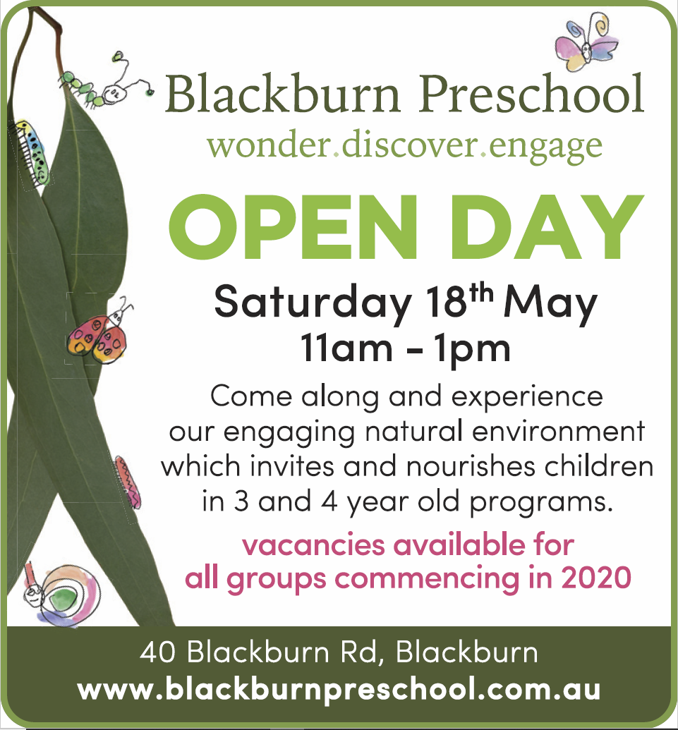 You are invited to our Open Day! :) Coming up in May, this is an opportunity for us to share our amazing kinder with prospective families. Please keep this day in mind and share with your friends who may be keen to visit!