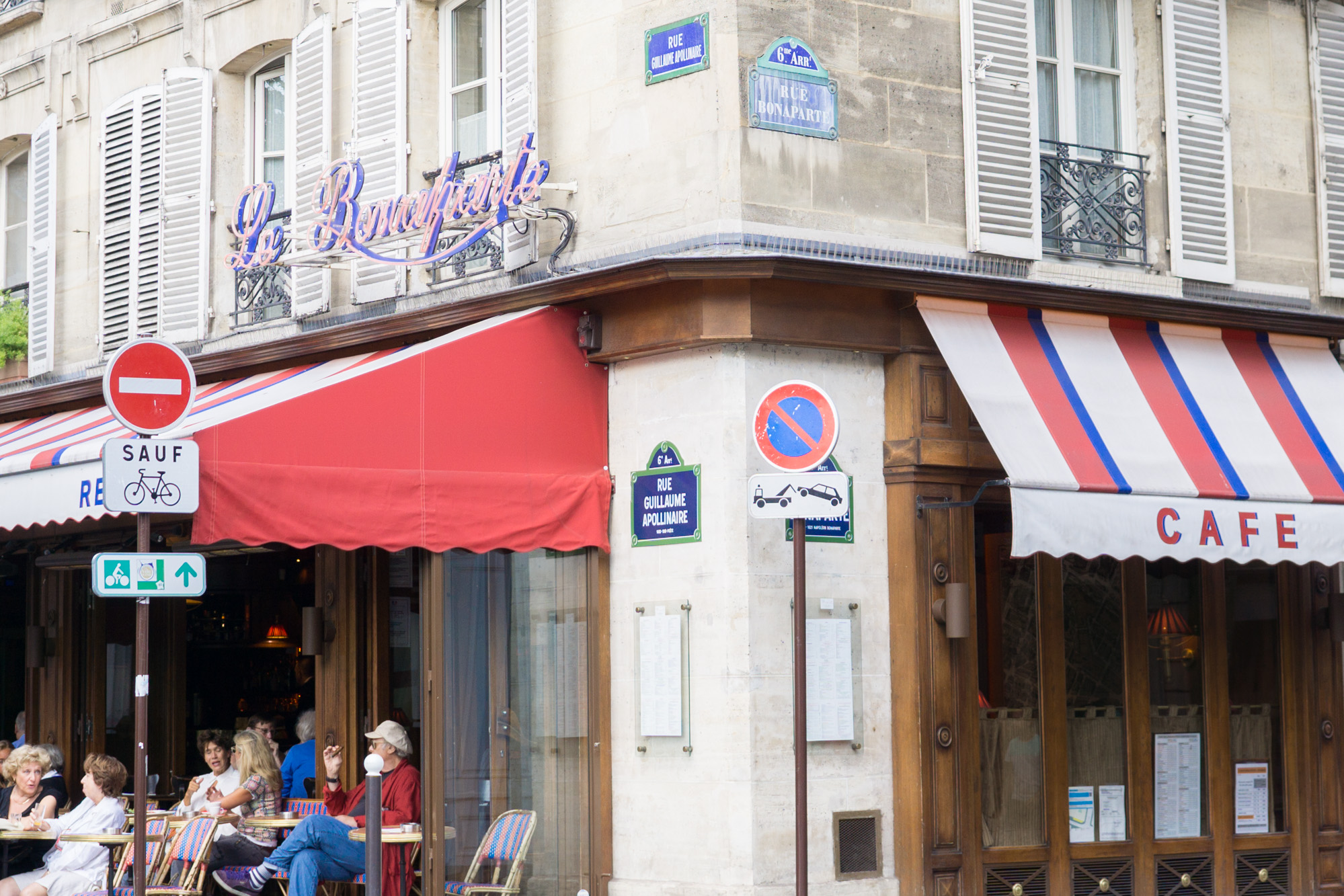Rue Bonaparte Travel Guide | Paris Tips | Where to people watch, eat delicious patisserie and peruse French pharmacy skincare and beauty products.