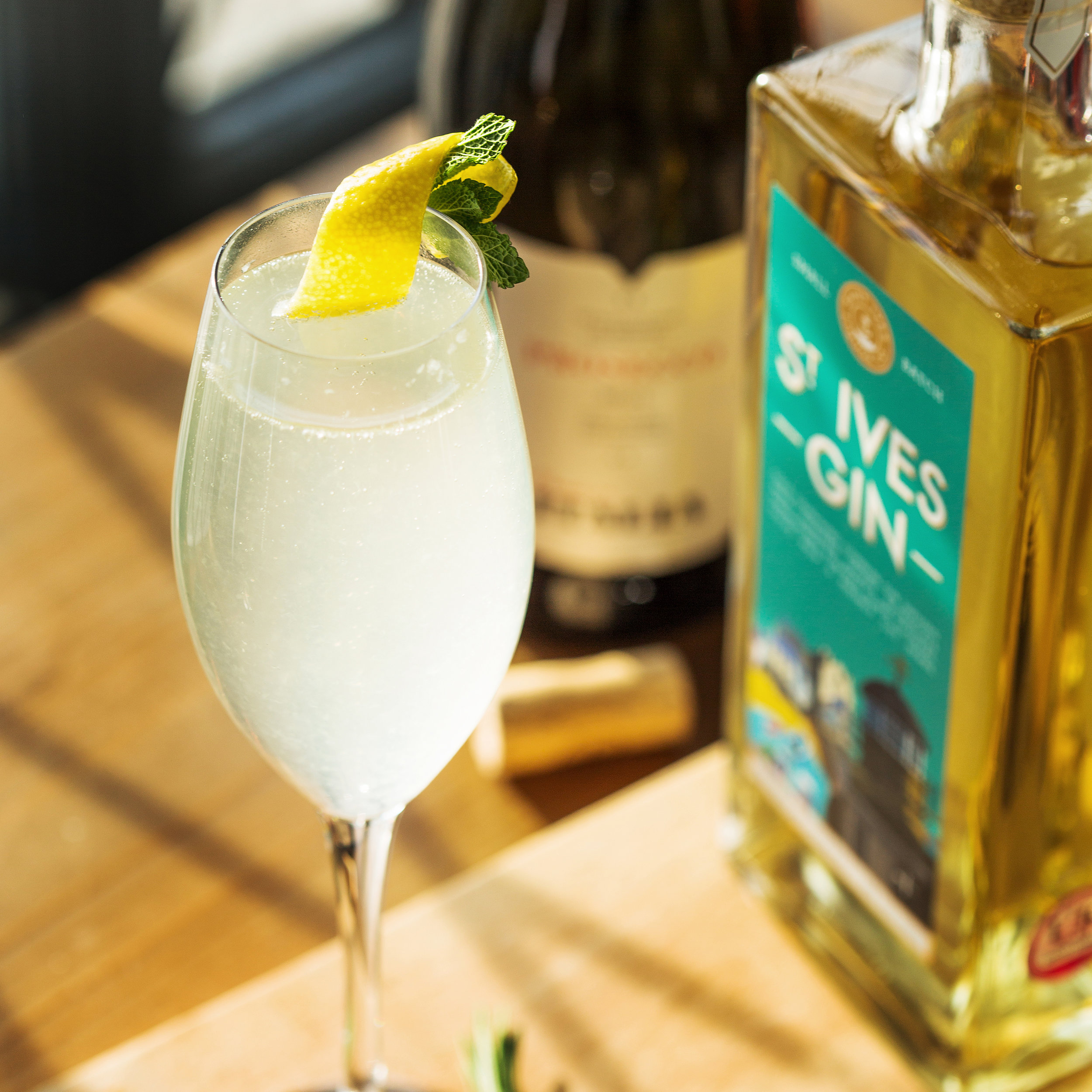 St Ives Gin SILCo 75 Cocktail