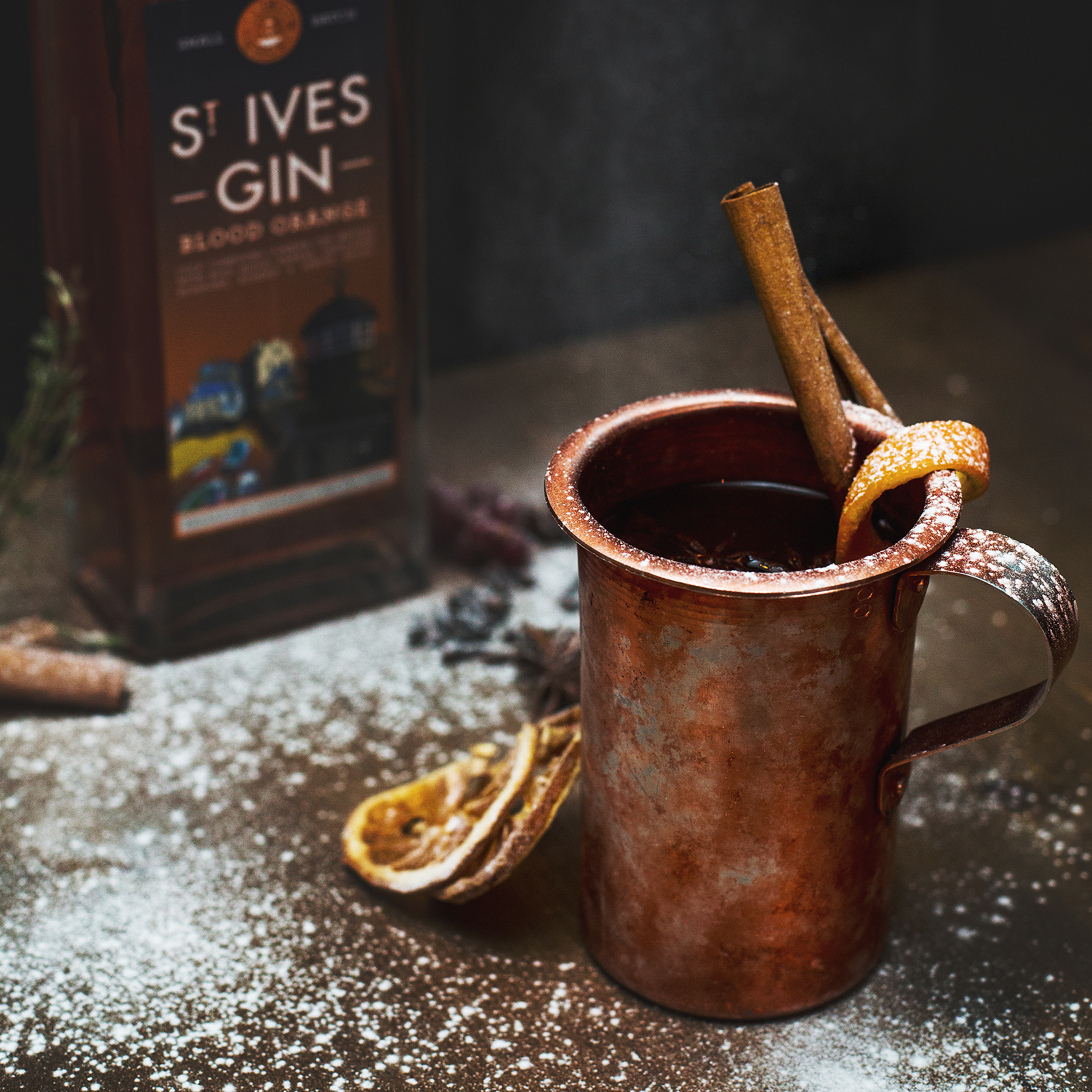 SILCo. Hot Toddy Cocktail with St Ives Blood Orange Gin