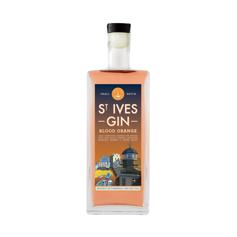 St Ives Blood Orange Gin