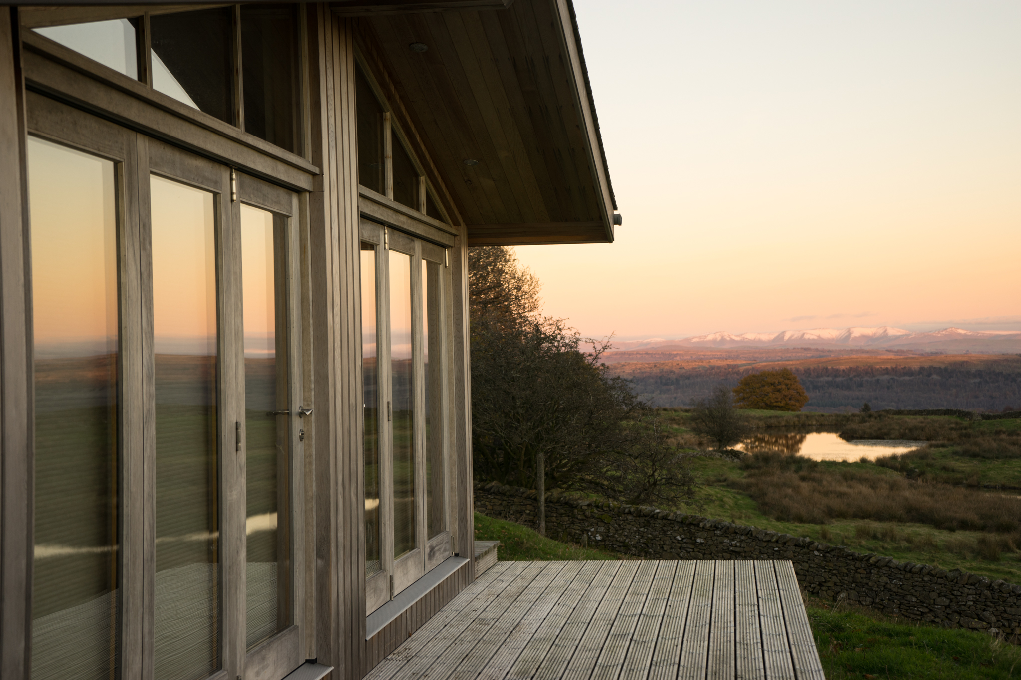 Expansive vistas - Expansive vistas while enjoying sunrise over the Yorkshire Dales and sunsets over Morecambe Bay.