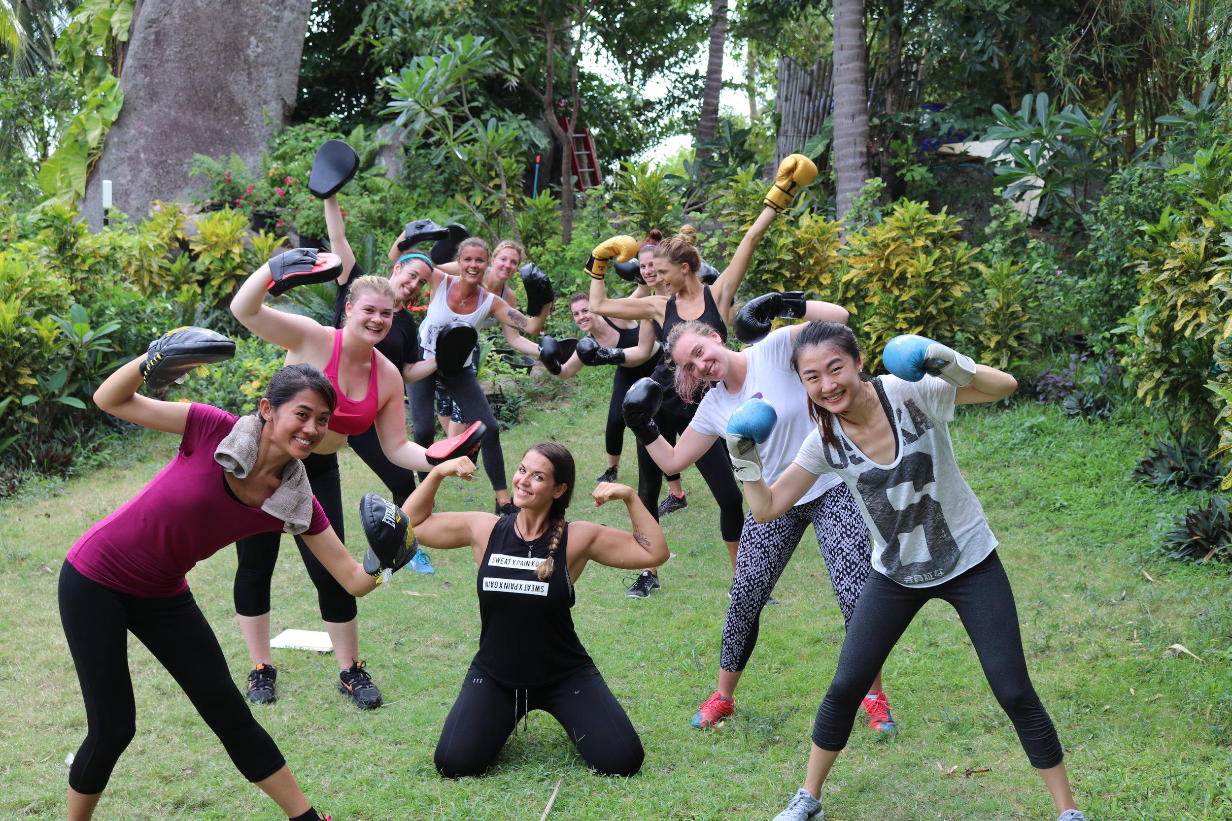 fitness on Koh Tao island, fitness retreats Thailand, fitness on Koh Tao