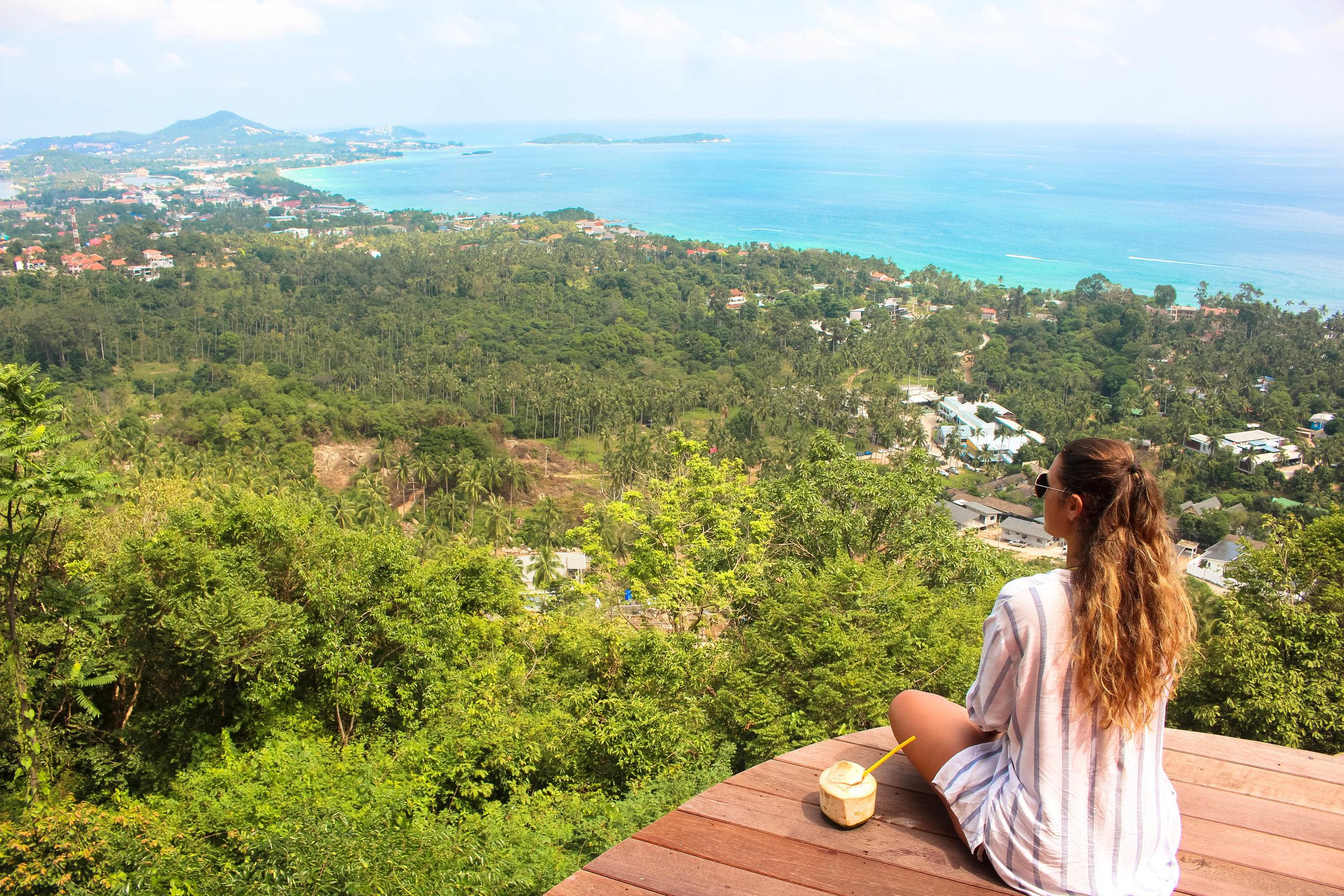 epic views on koh samui island